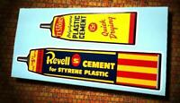 Vintage Style REVELL amp; TESTORS • Model Cements • Stickers • Decals