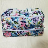 NWT Vera Bradley Marian Floral Lighten Up wheeled carry on