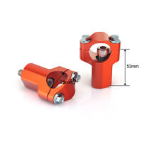1 1 8quot; Universal Bar Clamp Riser Taper Handlebars For KTM SX EXC SXF 28mm Orange $29.96