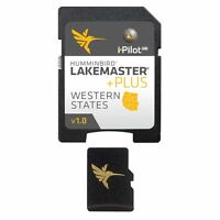 Humminbird® LakeMaster® PLUS digital GPS map card series microSD™ Fish Finders