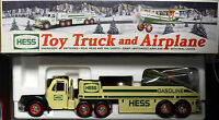 2002 Hess Toy Truck and Airplane Original Packaging