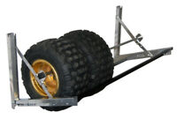 "NEW Pit Pal 61"" ATV Trailer Tire Wheel Wall Mount Storage Rack"