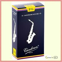 Vandoren SR2135 Alto Sax Traditional Reeds Strength 3.5; Box of 10
