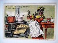Vintage Black Americana Victorian Trade Card for