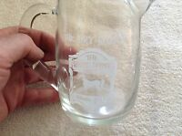 Whitehorse cellar blended Scotch glass pitcher