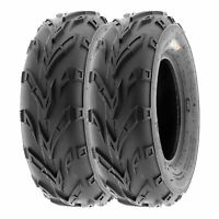 SunF 16x7-8 ATV Tires 16x7x8 Sport Tubeless 6 PR A004  [Set of 2]
