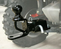 ATV Tek TRH1 Receiver and Trio Hitch with 2in. Ball