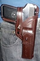 WoW Handcrafted Tokarev  pistol (TT-33) Stylish and genuine leather Holster .