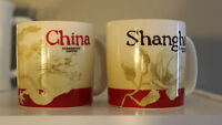 Starbucks Coffee 3 oz. Demitasse Espresso Mugs Cups China & Shanghai