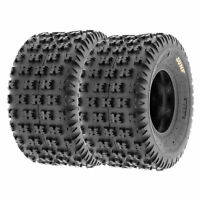 SunF 22x11-9 ATV Tires 22x11x9 Race Tubeless 6 PR A031  [Set of 2]
