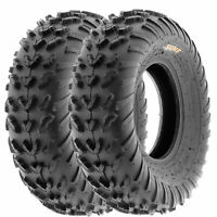 SunF 23x7-10 ATV Tires 23x7x10 Quad Tubeless 6 PR A007  [Set of 2]