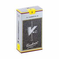 Vandoren CR193 Bb Clarinet V.12 Reeds Strength 3; Box of 10