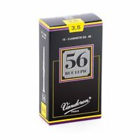 Vandoren CR5035 Bb Clarinet 56 Rue Lepic Reeds Strength 3.5 Box of 10