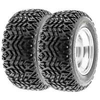 SunF 25x10-12 UTV ATV Tires 25x10x12 All Trail Tubeless 4 PR G003  [Set of 2]