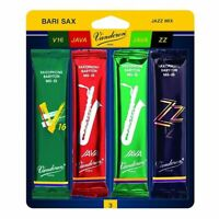 Vandoren Baritone Sax Mix Card Strength 3 Java Green,Java Red, ZZ and V16