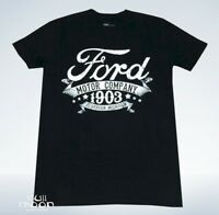 New Ford Motor Company 1903 Men#x27;s Vintage Throwback T Shirt