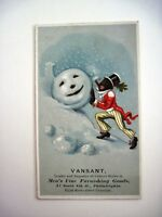 Vintage Victorian Black Americana Trade Card for