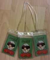 Coca Cola Gibson Girl Luggage Tags Green Coke Soda Pop Playing Cards Set 3
