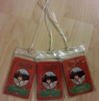 Coca Cola Gibson Girl Luggage Tags Red Coke Soda Pop Playing Cards Set 3