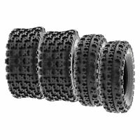 SunF 21x7-10 22x10-9  All Terrain ATV Tires 6 PR Tubeless  A027 [Bundle]