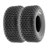 SunF 16x8-7 ATV Tires 16x8x7 All Terrain Tubeless 6 PR A012  [Set of 2]