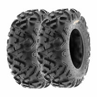 SunF 16x8-7 ATV Tires 16x8x7 All Terrain  6 PR A051 POWER II [Set of 2]