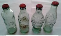 2011 Turkey Rare Coca Cola's 125th Year Empty Glass Bottle Set!!