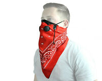 Motorcycle ATV Snow Pro Series Rider Bandana Dust Mask ATV Tek Red NEW