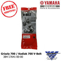 Yamaha 2007-2018 Grizzly 700 / 2016-2018 Kodiak 700 OEM V-Belt 3B4-17641-00-00