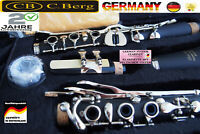 German System Profi Clarinet 26 Flaps 6 Ring 4 Trill Christian Berg from Germany