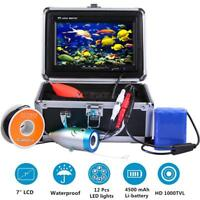 Portable 7 inch Fish Finder / LCD HD Fishing Camera with 15m/50ft Cable