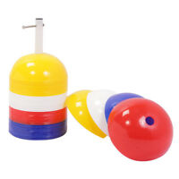 CW Pack of 40 JUMBO Domes Cones Multicolor Bright Training Aid Field Marking FS $63.49