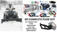 KFI Can Am Outlander 800 850 '12-'19 Plow Complete Kit 54