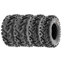 SunF 24x8-12 & 24x10-12 ATV Tires All Terrain Tubeless 6 Ply A041 [Set of 4]