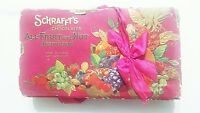 Schrafft#x27;s Chocolate Empty Candy Box All Fruit amp; Nut Assortment