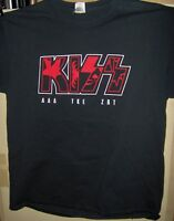 KISS T Shirt LG 2017 Greek Week March and April 2017 PAUL STANLEY GENE SIMMONS $30.00