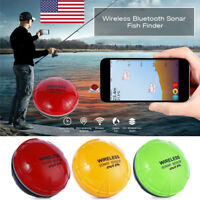 Portable Wireless Bluetooth Fish Detection Sonar Fish Finder for iOS Android US