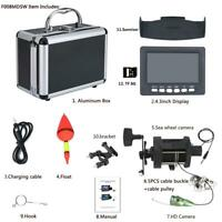 6W IR LED Underwater Fishing Video Camera Kit 4.3quot; Inch HD DVR Recorder Monitor