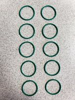 Hk 45 Barrel o-ring GREEN  oring usp, compact, p30 will fit all hk45 OEM H