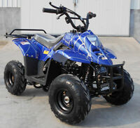 New 85% Assembled 110cc ATV 4-stroke Kids and Youths 4 Wheeler Gas Powered Quad