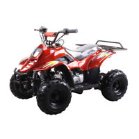 Kids Youth ATVs with 110 Gas 4-Stroke Safety Remote Control Engine 200LBS