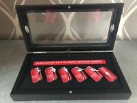 2010 Vancouver Winter Olympics Coca Cola Pin Set of 6 Cans