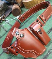 Handcrafted Tokarev  pistol (TT-33) Stylish and genuine leather Belt Holster .