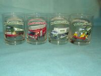 Original 4 Hess Oil Co Classic Truck Series Glasses MINT Christmas GIFT QUALITY