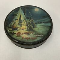 Old CAMPFIRE MARSHMALLOWS Supreme Tin, Packaging