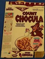 Count Chocula vintage Pouring Milk monster cereal box Boo Franken Berry series86