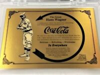 COCA COLA  HONUS WAGNER SERIES 1 GOLD CARD # 149 - Limited to 500 - 1993