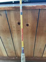 """Vintage Fishing Rod Hurricane Surf Rod Action Approved in Florida Fishing 6' 6"""""""