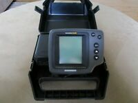 HUMMINBIRD WIDE 128 Portable FishFinder - Batteries not Included