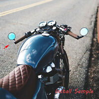Universal Bar End Mirrors Motorcycle Handlebar Mirror Fit For Cafe Racer Honda $24.49